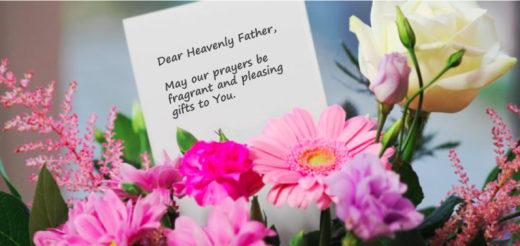 Image for prayers that honour God